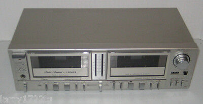 Fisher Studio Standard Stereo Dual Cassette Deck Model: CR-155