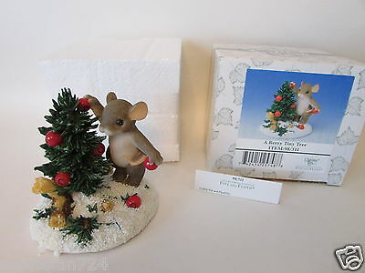 Charming Tails # 98/311 A Berry Tiny Tree w/ tag G&L Barn Special Edition MINT