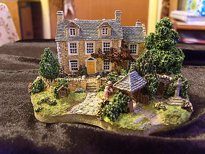 The Vicarage By The Danbury Mint Country Village Collection