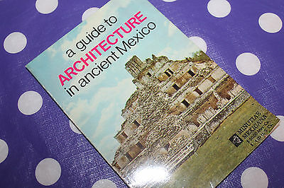 Vintage 1974 Architecture in ancient Mexico Booklet