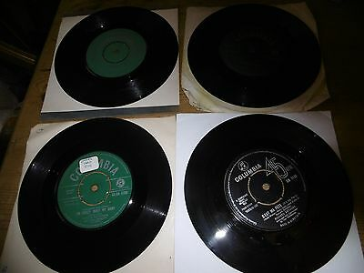 "12 x  7"" singles 1950/60s Jazz, Easy Listening - All vinyls VG -  LISTED"