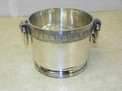 Vintage Reed & Barton Silver Plated Champagne Bottle/Ice Bucket Numbered 2940