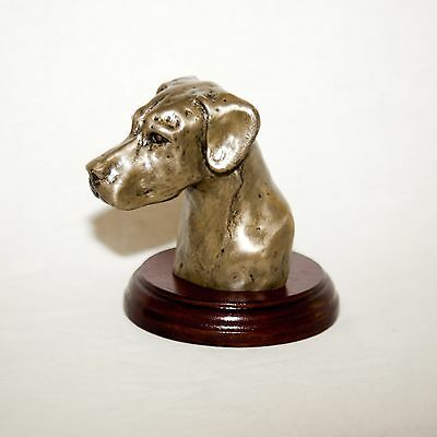 GREAT DANE  Bronze Head /Bust. Hand made in England. Ideal gift.