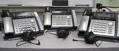 RCA ViSys Model 25424RE1 4-Line Expandable System Phone  - 3 INCLUDED