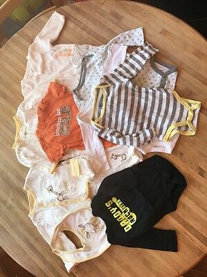 LOT#8 Assorted Unisex Baby Clothes 3-6 Month 11 Pieces