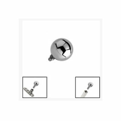 TITANIUM Ball for 1.6mm Internally Threaded Jewellery - FREE UK Delivery!
