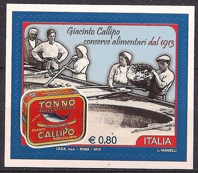 Italy 2014 Canned Fish Tuna Food Industry Gastronomy Factory 1v MNH