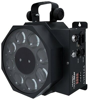 Kam GoboStar Black Gobo Effects Star Cluster Laser RGB LED DMX DJ Light