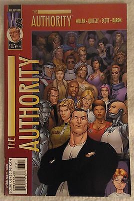 THE AUTHORITY (1999/Vol 1) #13 by Mark Millar & Frank Quitely - DC/WILDSTORM