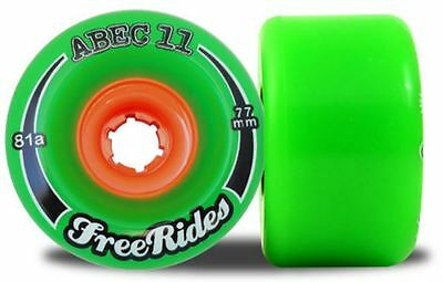 ABEC 11 77mm/78a LONGBOARD WHEELS. NEW. PERFECT. SAVE YUUGGE!!!