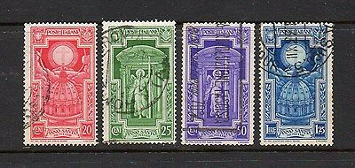 Italy 1933 Holy Year Stamps - Sg 384-387 Good Used High Cat Value £11