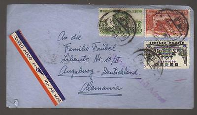 7426-Mexico , air mail cover to Germany