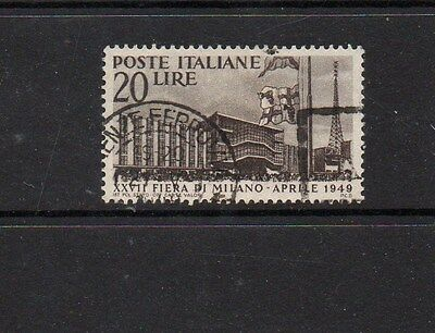 Italy 1949 Milan Fair Stamp - Sg720 Good Used - High Cat Value £6