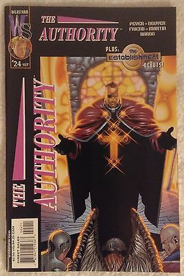 THE AUTHORITY (1999/Vol 1) #24 by Tom Peyer & Dustin Nguyen: WILDSTORM/DC COMICS