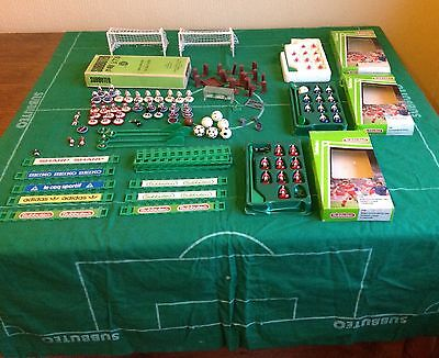 Subbuteo Teams & Accessories + Pitches Loft Find-Nice!!!