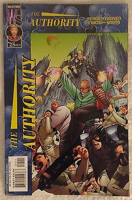 THE AUTHORITY (1999/Vol 1) #25 by Tom Peyer & Dustin Nguyen: WILDSTORM/DC COMICS