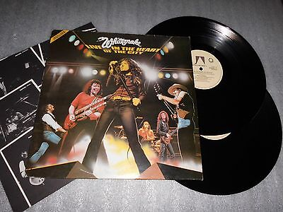 Whitesnake 'Live In The Heart Of The City' Double Vinyl Album United Artists