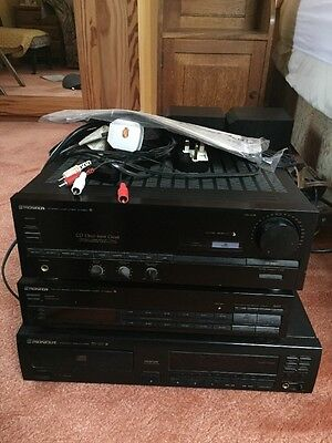 Pioneer Stereo System And Turntable With All Instructions/ Remote/ Speakers