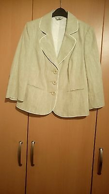 Ladies Petite Jacket For Wedding/formal Ocassion Size 14