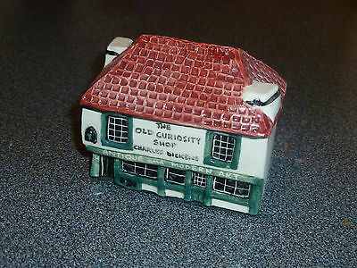 Tey Pottery Miniature Old Curiosity Shop. House, Cottage, Dickens