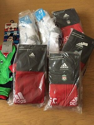 *NEW* Bundle Of Brand New In Packets Boys Socks Inc Football (8 Packs) BARGAIN!