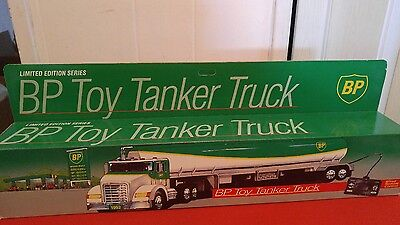 1992 BP toy tanker truck / wired  remote  control NIB limited edition