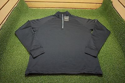 NEW Dunning Golf 1/4 Zip Pullover Mens Size Small   Black 5c