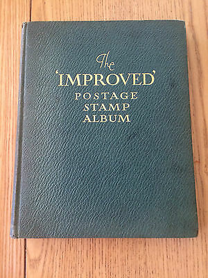 TWO Vintage Stamp Albums Penny Red-Brown very good condition