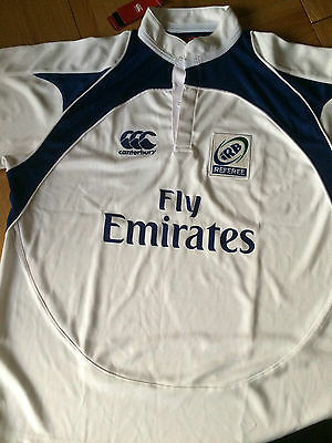 Rugby Shirt/shorts Referee Canterbury Size Xl White Bnwt