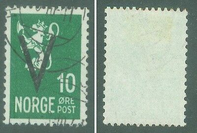 1941 Norway  Scott #212.  For Victory In World War Ii. Cv: $40.00. Bid: $3.55.