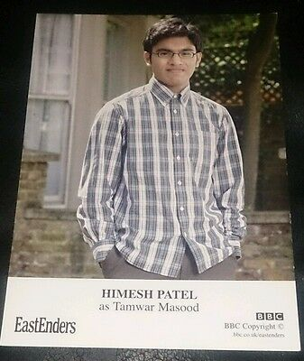 Eastenders Unsigned Cast Card Of Himesh Patel