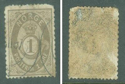 1877-1931 Old And Very Old Norway 7-Stamp Collection!   Cv: $26.75. Bid: $2.95.