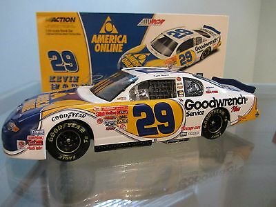 Kevin Harvick #29 Goodwrench Service Plus/AOL 2001 1/24 NASCAR Diecast