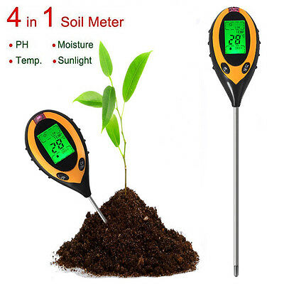 BG101 Electronic Soil Tester PH Humidity Temperature Analyzer 4 in 1