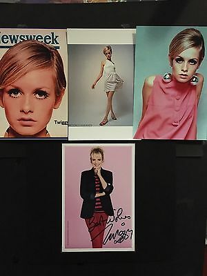 Twiggy hand signed 6x4 photo of actress, 60's model sensation