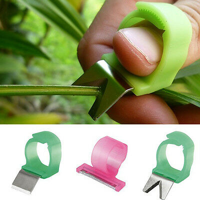 BG86 Adjustable Vegetable Fruit Picker Picking Ring Gardening Stainless Steel