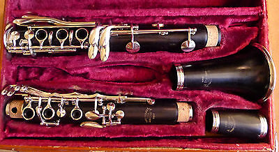 Vintage A. Robert 'Professional' Bb Boehm Wood Clarinet Overhauled