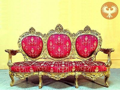 Fine French Louis XV Period Antique Canapé Sofa Settee c. 1750, 18th Century