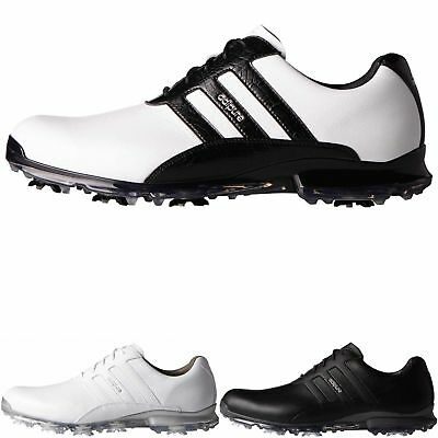 """NEW 2017"" Adidas Golf Mens Adipure Classic Spiked Golf Shoes Waterproof"