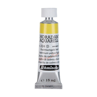 (69,87€/100ml) Schmincke 15ml HORADAM Aquarell Kadmiumgelb hell Aquarell  14 224