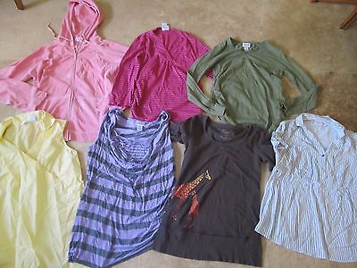 Lot, 7 size M,medium maternity tops, jacket, Motherhood, Mimi