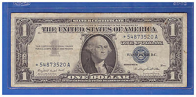 ***1957***a Star  Us $1 One Dollar Silver Certificates Notes Lot H463