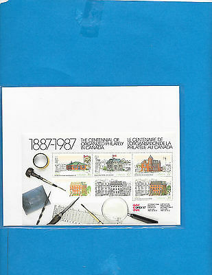 Canada   S-Sheet  # 1125 a  MNH  ( From Annual Year Book )