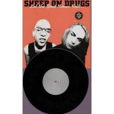 """SHEEP ON DRUGS Let The Good Times Roll 10"""" VINYL UK Island 2 Track Etched Disc"""