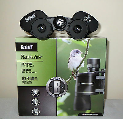 Brand New Boxed Genuine Bushnell Natureview 8x40 binoculars, RRP136GBP, £29.99?!