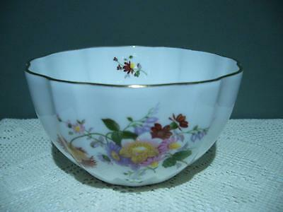 Royal Crown Derby Lovely 'derby Posies' Large Open Sugar Bowl - England - Vgc