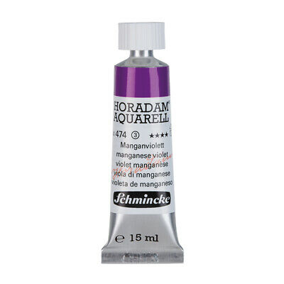 (69,87€/100ml) Schmincke 15ml HORADAM Aquarell Manganviolett Aquarell  14 474 00
