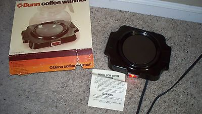 vintage BUNN Coffee Warmer model BCW