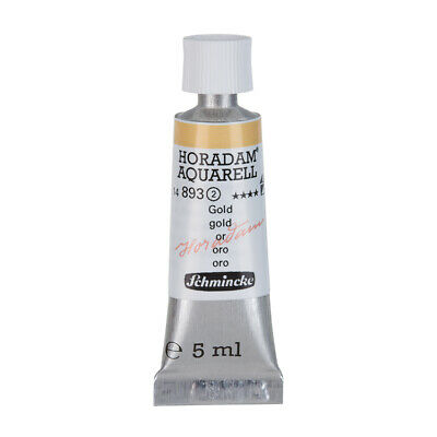 (83,80€/100ml) Schmincke 5ml HORADAM Aquarell Gold Aquarell  14 893 001