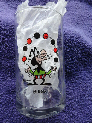 Bung - Wizard Of Id Glass - Arby's Collector Series - 1983